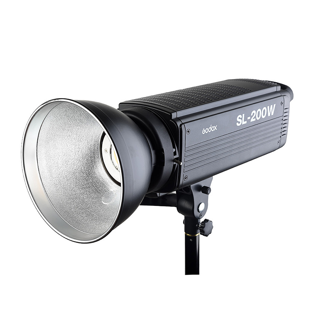 Free DHL Godox SL-200W 200Ws 5600K Studio LED Continuous Photo Video Light Lamp For All DSLR Camera + Remote Control image