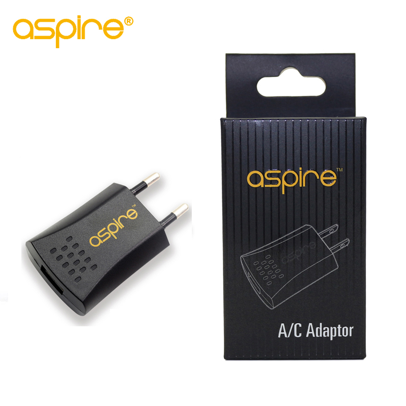 100% Genuine Aspire A/C EU Adaptor Electronic Cigarette EU US UK Plug Wall Charger USB Charger Adaptor 100% Genuine Aspire A/C EU Adaptor Electronic Cigarette EU US UK Plug Wall Charger USB Charger Adaptor