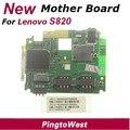 Original nuevo lenovo s820 placa base placa madre mainboard motherboard con centro de servicio imei lable de lenovo, envío libre