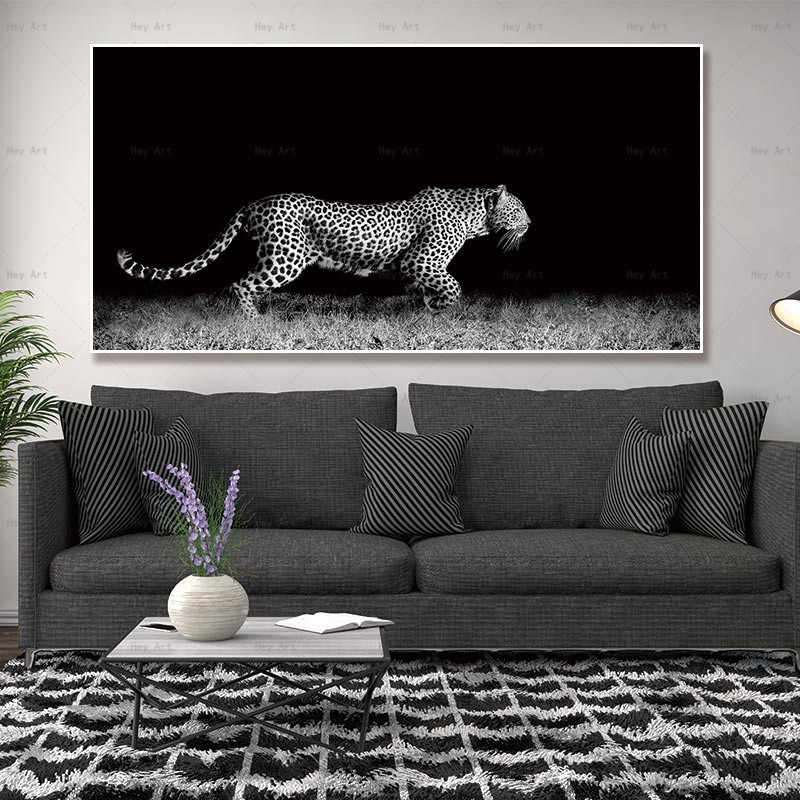 Home Decor Picture Canvas Animal Painting Artwork for Living Room Wall Art Prints Tiger Poster Frameless Printing Lion