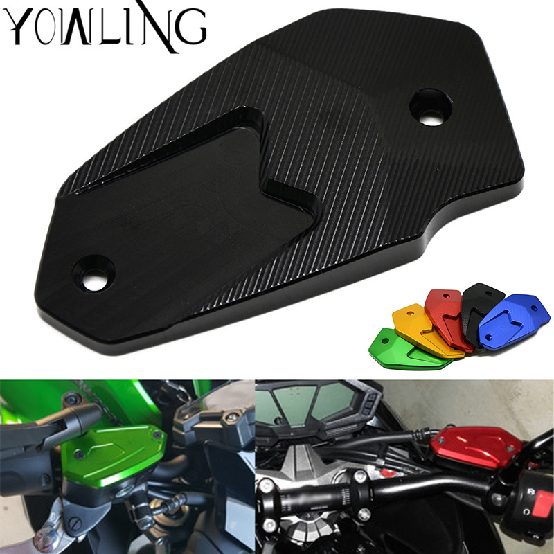 For Kawasaki Z800 2013-2016 ER6N ER6F 2009-2014 VERSYS 650 ninja650 2009-2014 Motorcycle CNC Front Brake Fluid Tank Cap Cover billet adjustable long folding brake clutch levers for kawasaki z750 z 750 2007 2008 2009 2010 2011 07 11 z800 z 800 2013 2014
