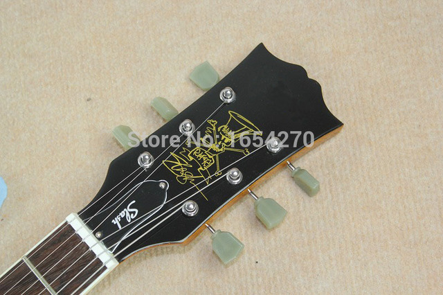 free shipping 2017 hot sell LPR-7 Goldtop Left-Handed perfect Electric guitar 150717 1