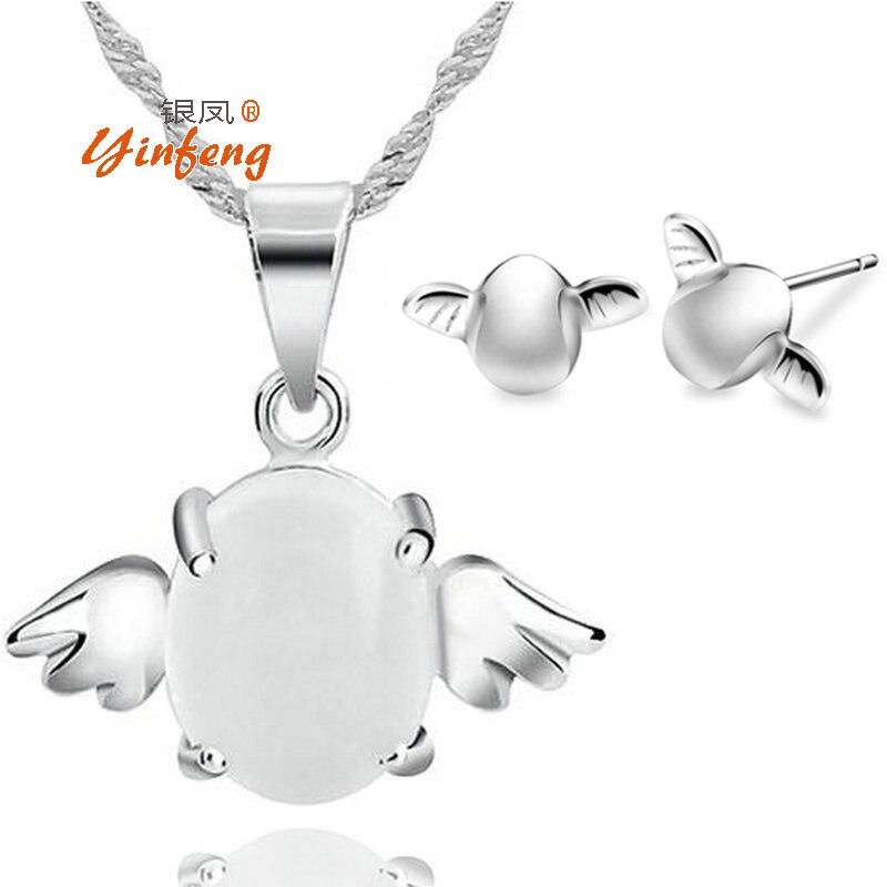 Angel Egg jewelry set