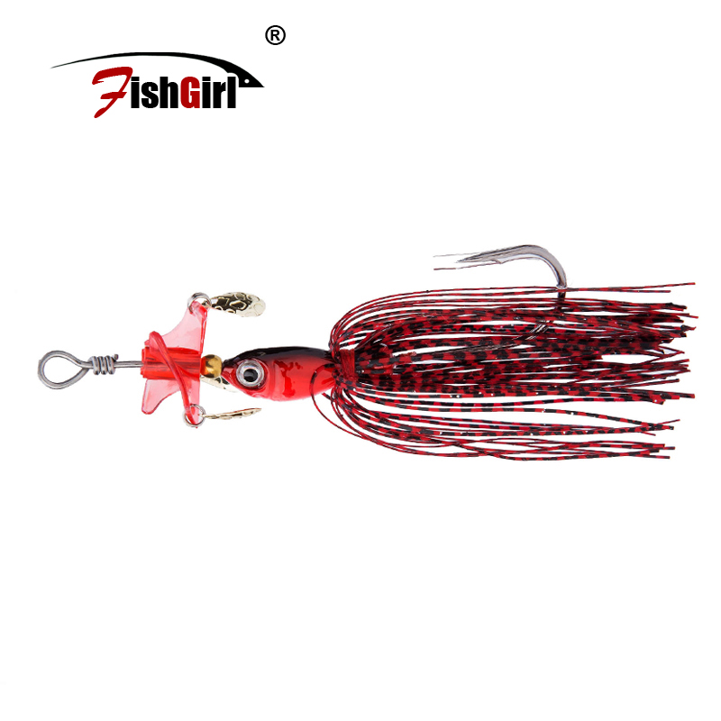 LTHTUG 2017 New Metal Fishing Jig Head Hooks Fishing Lures 18g Spinner Baits With Propeller Fishing Tackle Pesca Isca Artificial Рыбная ловля