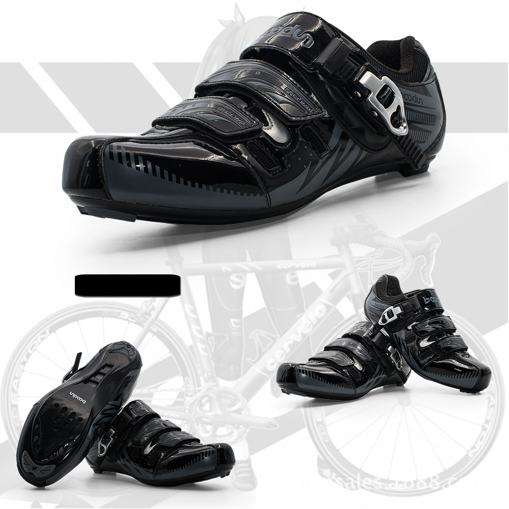 2018 BOODUN New Breathable Professional Self-locking Cycling Shoes MTB Bicycle Shoes Non-slip Bike Shoes Sapatos de ciclismo racmmer cycling gloves guantes ciclismo non slip breathable mens