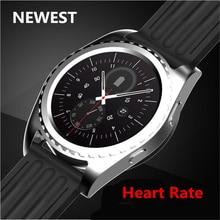 No. 1 smart watch heart rate monitor de esporte smartwatch mtk2502 nb-2 vida toque à prova d' água relógio para ios android pk samsung gear s2