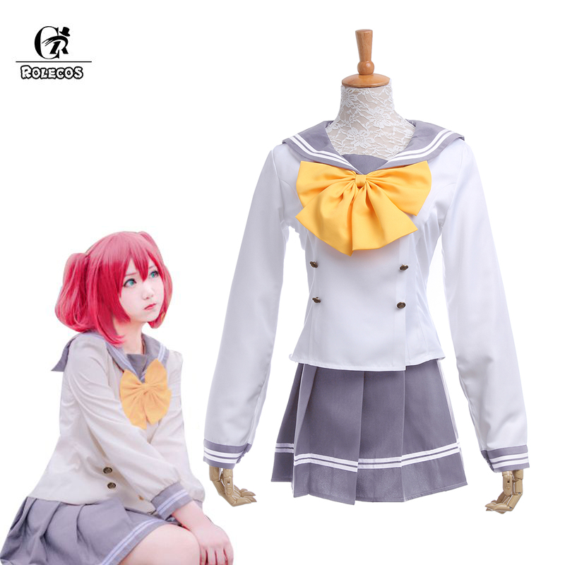 ROLECOS LoveLive Sunshine Cosplay Costume Love Live Wszystkie Członek Sailor School Uniform Women Girls Ruby Nico Aqours Kousaka Minami