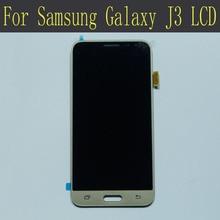 100% test for samsung galaxy j3 2015 j320 display lcd J320A J320F J320M tela Sensível Ao Toque com digitador Assembléia preto Branco ouro