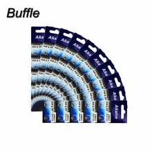 100pcs/10cards AG0 LR63 379A SR521SW SR521 LR521 LR69 SR63 1.5V Coin Cell Button Batteries For Watch Computer Clock