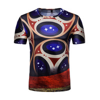 قمصان bohoarist الملكي الأزرق الأعلى تي شيرت س الرقبة طباعة الرياضة الصيف ملابس 2018 مروحة أزياء شعبية جديدة