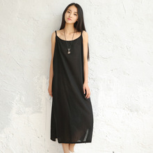 bc5e505ef8 Buy loose skirt linen dresses and get free shipping on AliExpress.com