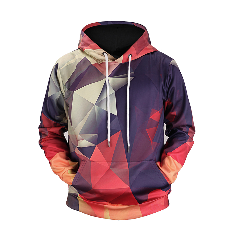 Cloudstyle Triangle Hoodies Special Design 3D Hoodies Casual Style Hoody Support Customize Mens Sportwear Plus Size 5xl