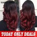 10a borgonha ombre cabelo brasileiro feixes queen hair onda do corpo brasileiro 4 feixes de cabelo brasileiro virgem ombre cabelo humano weave