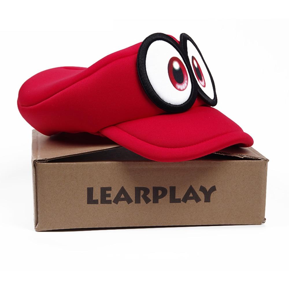 Anime Super Mario Odyssey Cappy Hats Bros Luigi Waluigi Wario Caps Sponge Soft Cosplay Costume For Adults Kids Party Accessories