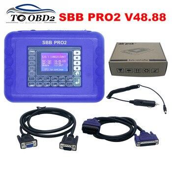 Newest Version SBB Pro2 V48.88 V48.99 Auto Key Programmer Auto Key Programmer for many cars to 2017 high quality SBB PRO2 V48.88