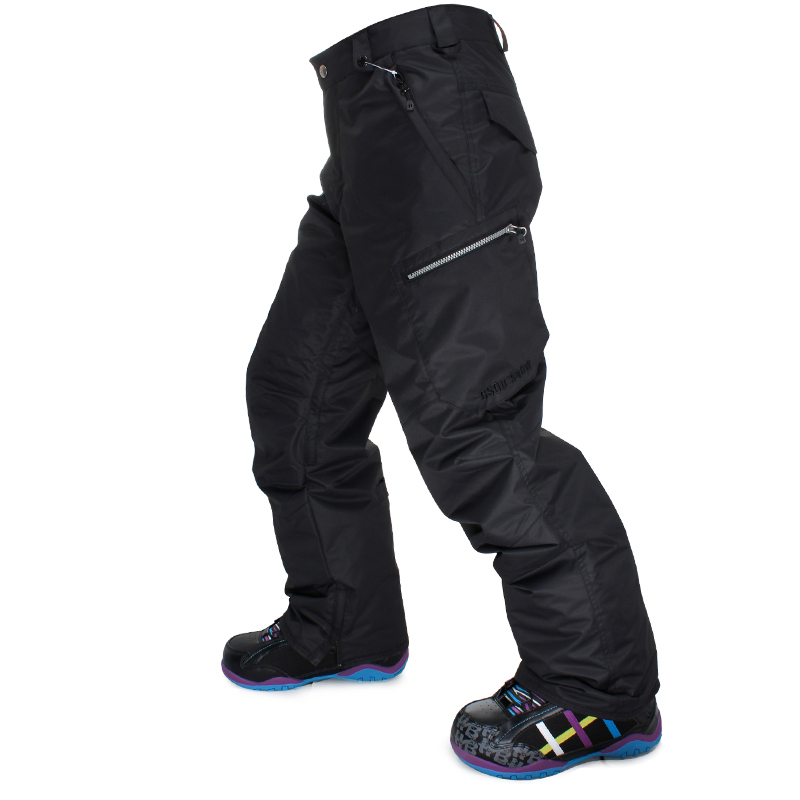 High Quality Gsousnow Men Skiing Pants Snowboard Pants Man Breathable Waterproof Windproof Top Quality Winter Warm Trousers 0818