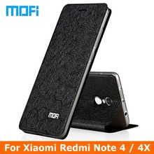 Xiaomi Redmi Note 4 чехол Mofi марки Xiaomi Redmi Note 4 4x Pro Чехол xiomi Флип кожаный чехол + ТПУ мягкий чехол для Redmi Note 4 Чехол