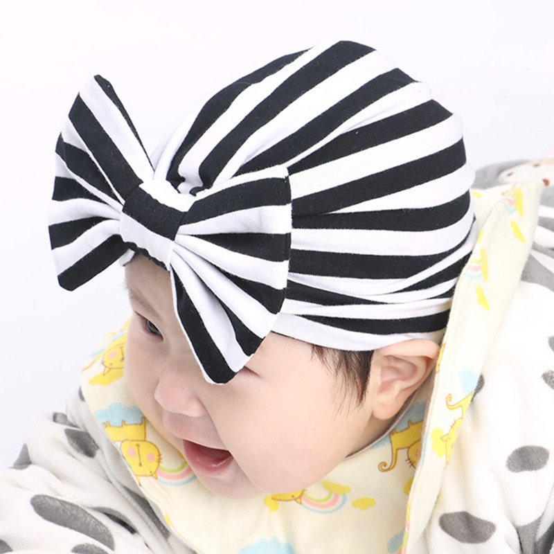 2018 stripe Indian hat baby girls kids turban headband hair head bands accessories for children headwrap hair ornaments Bandanas shanfu women zebra stripe sinamay fascinator feather headband fashion lady hair accessories blue sfc12441