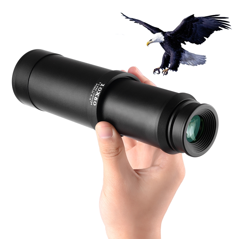 Pirates Monocular telescope Powerful Telescopic 10X50 HD professional binocular Waterproof Lll Night Vision For Hunting Spotting