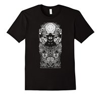 PSYCHEDELIC GODDESS Abstract All Seeing Eye Art T Shirt Men S High Quality Tees Top Tee