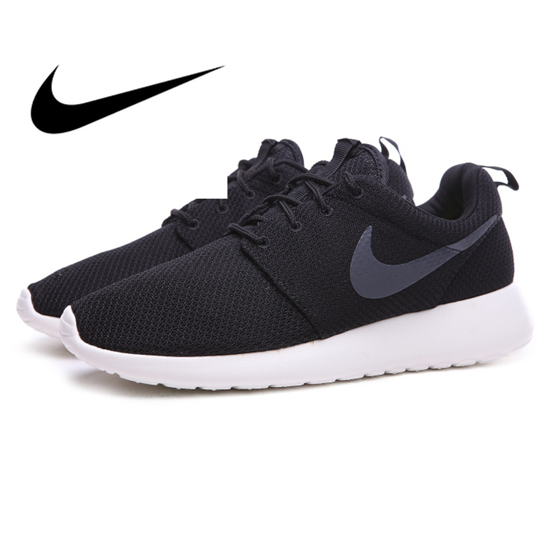 Nike Roshe Breathable New Shoes Running Men Air Mesh original Run ym08wOvPNn