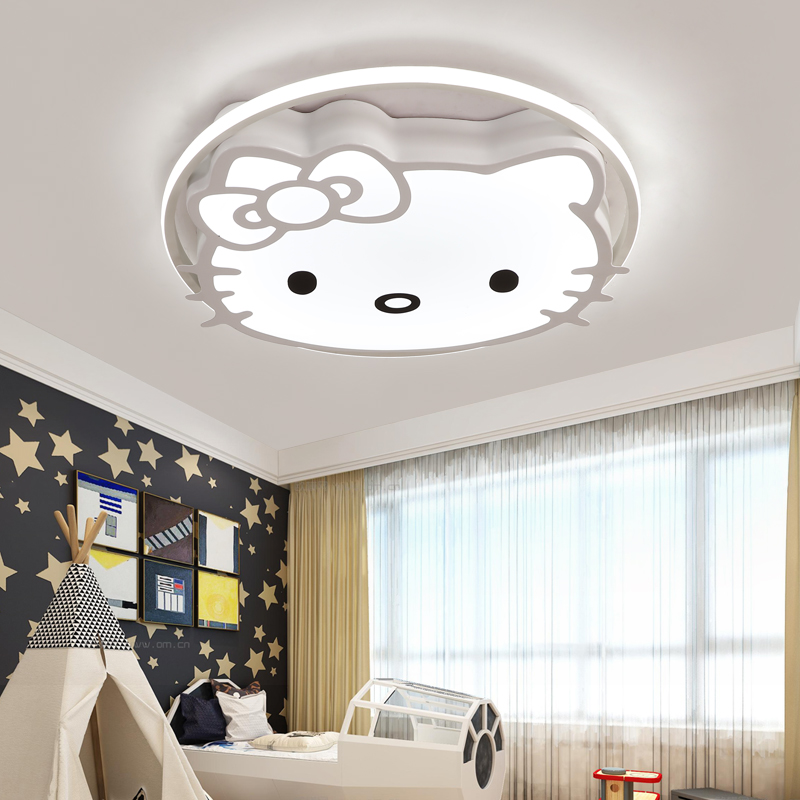 Kids bedroom Living study room Ceiling lights Cartoon Modern Ceiling Lamp LED Lights with remote Children ceiling fixture led suction dome light fashion cartoon study bedroom children s room lights