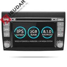 Isudar 2 Din Android 8.1 Car Multimedia player For Fiat/Bravo 2007 2008 2009 2010 2011 2012 DVD Automotivo GPS Radio 2 GB RAM