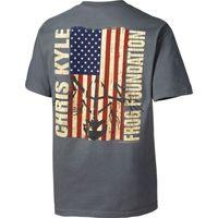 Chris de base de KYLE épico de sinal americano SNIPER GUN militar de homens t-shirt de algodão PLUS S-3XL