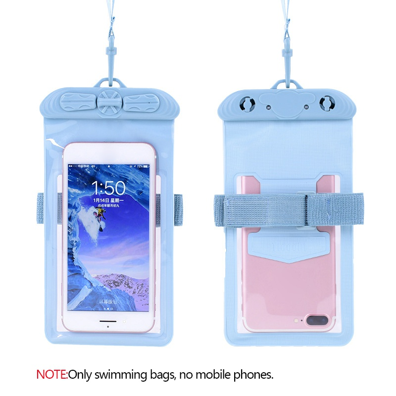 Swimming Armbands Waterproof Mobile Phone Bag Underwater Touch Screen Surfing Diving Beach Swimwear Cellphones Pouch