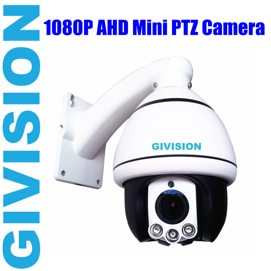 2mp security ahd mini speed dome camera 1080P pan tilt 10x zoom system Analog HD ptz IR video surveillance cameras de seguridad