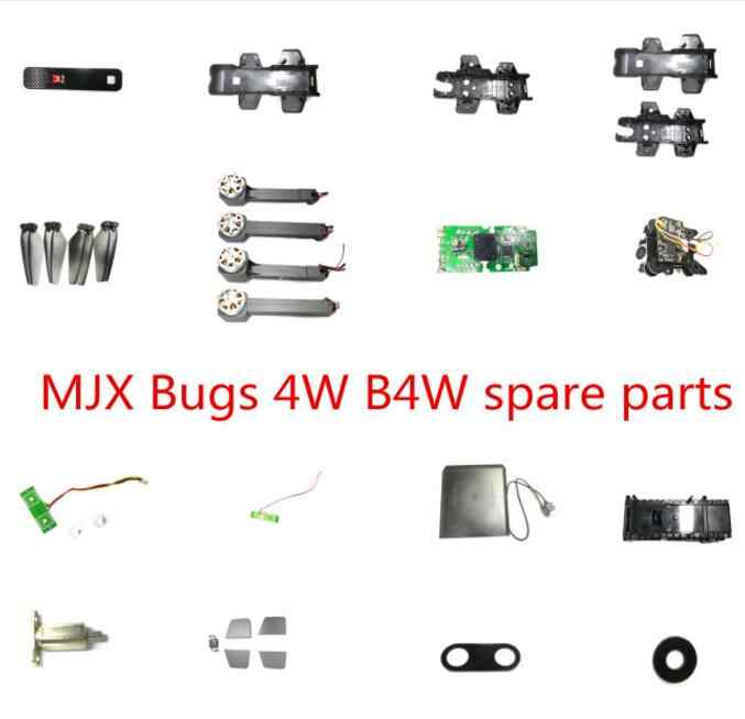 MJX B4W Bugs 4W GPS RC quadcopter drone onderdelen body shell propellers blade motor Arm GPS modul Ontvanger camera oplader etc