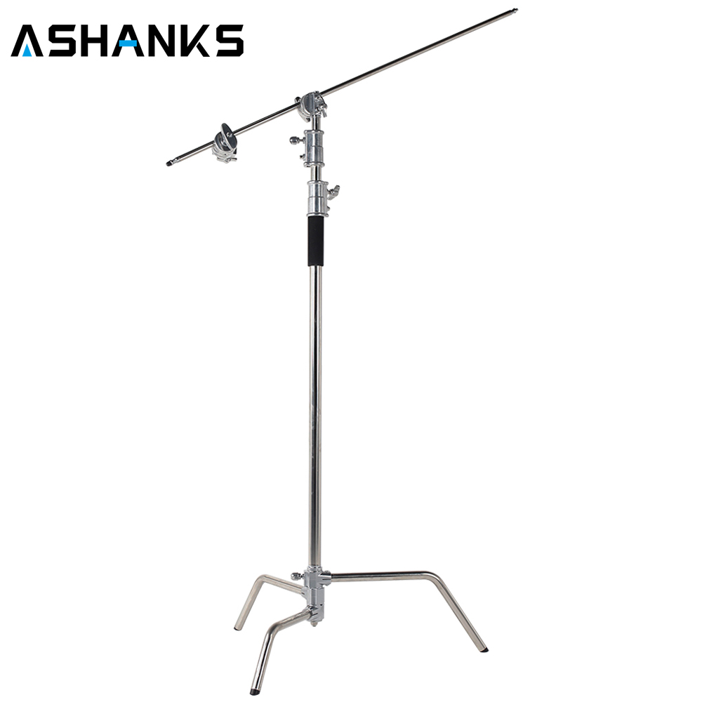 цена Pro heavy duty Studio Centry C Stand Detachable Light C-stand +gobo Arm+line Resizer For Flash Strobe Flag Reflector онлайн в 2017 году