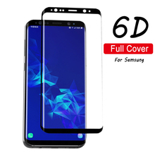 New 6D Full Cover Tempered Glass Fit For Samsung Galaxy Note 9 S9 Plus S8 8 S7 Edge Screen Protector Protective Film