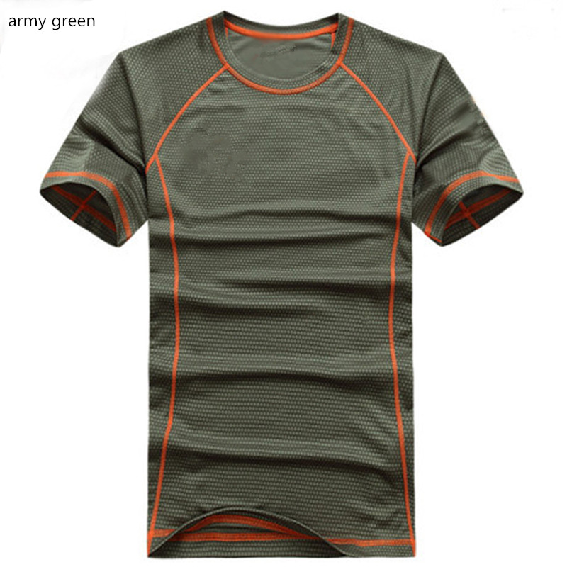 Camo Green CM CRAGHOPPERS Mens Discovery Adventures Wicking Base Layer T-shirt