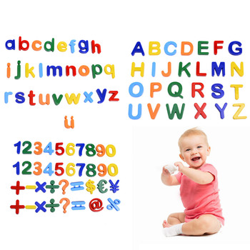 89pcs Magnetic Learning Numbers Alphabet Letters Toddlers Kids Preschool Learning Spelling Counting Educational Toys 1