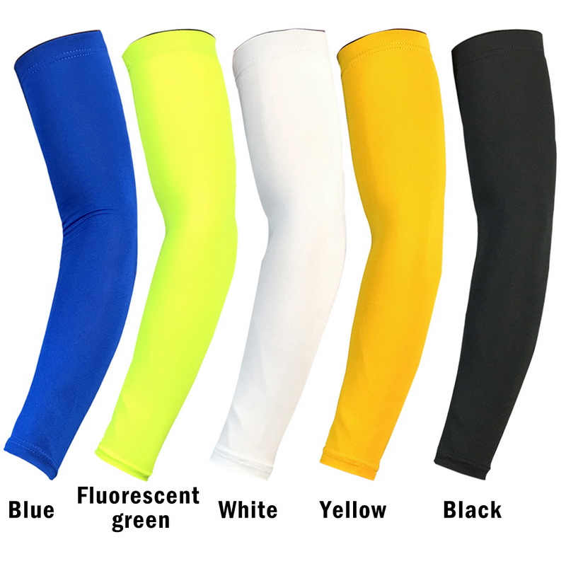 Men's Arm Warmers Apparel Accessories Laamei Breathable Quick Dry Arm Sleeves Uv Protection Compression Running Basketball Elbow Pad Fitness Sports Arm Warmers