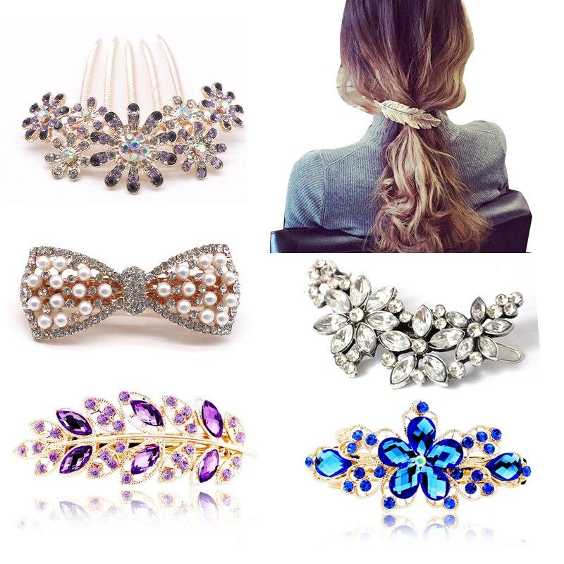 1pcs Mix Style Hair Clips for Women Lady Girls Fashion Hair Pins Barrette Hairgrips   Headwear   Hair Accessories Hairpins Hairclips