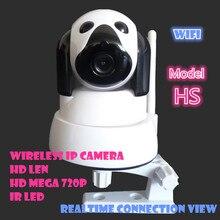 P2P Ip-камера 720 P HD Беспроводной Бэби-Монитор PTZ Безопасности ONVIF Облако Ночного Видения Карта Micro Sd pt Мега Двумя способами аудио