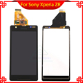 100% Brand new Display LCD com Tela de Toque digitador assembléia para a sony para xperia zr m36h c5502 c5503 frete grátis ferramentas