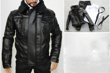 1/6 Men's Motorcycle Jacket Clothes Set For 12''Bodies 1 6 the navy seal cqb combat tactical clothes set for 12 bodies