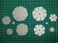 Flower Metal Die Cutting Scrapbooking Embossing Dies Cut Stencils Decorative Cards DIY Album Card Paper Card
