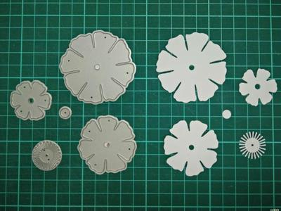 Flower Metal Die Cutting Scrapbooking Embossing Dies Cut Stencils Decorative Cards DIY album Card Paper Card Maker snowflake hollow box metal die cutting scrapbooking embossing dies cut stencils decorative cards diy album card paper card maker