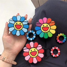 Cartoon Cute Sunflower Earphone Case For Airpods 1/2 Silicone Protection Wireless Bluetooth Accessories Cover