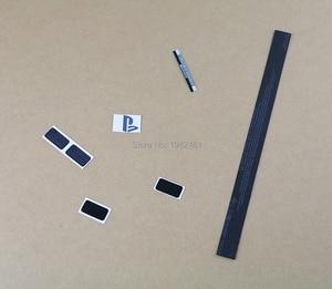 Image 2 - Lable מדבקת קליפת דיור שחורה באיכות גבוהה 5 סטים\חבילה OCGAME חותמות מקרה דיור CUH 1001A ps4