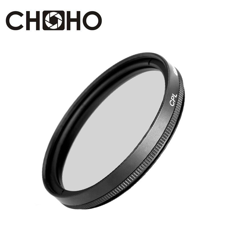CPL Filter Zirkular Polarisierende Polarisator 49mm 52mm 55mm 58mm 62mm 67mm 72mm 77mm 37mm 39mm 40,5mm filtros Für Canon Nikon Sony