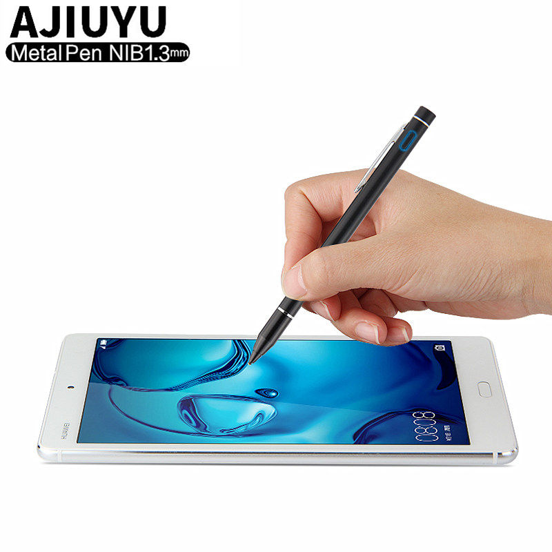 High Precision Pen Active Stylus Capacitive Touch Screen For Huawei MediaPad M3 Lite 10 8 10.1 8.0 M3 8.4 10.0 Tablet Case 1.3mm