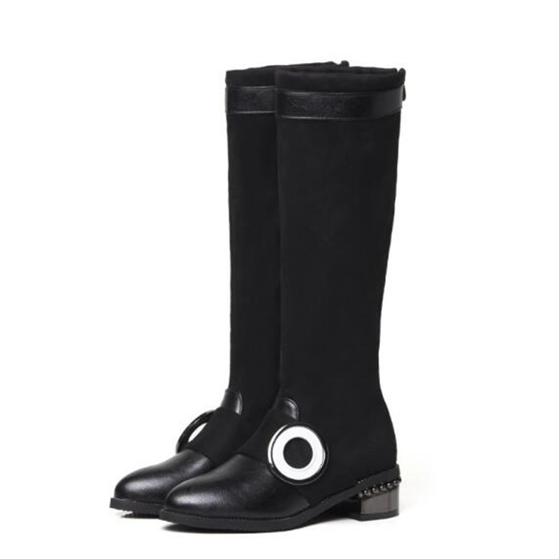 Britannique Femmes 48 Garder Cachemire Mince Automne Et Personnalité Sexy Style Au Nouveau 1 Size34 Chaud De Mode Bottes Hiver Jambe Noir qB4TxHBY