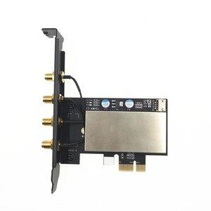Image 3 - Broadcom BCM94360CD 1300Mbps Băng Tần Kép 802.11AC Để Bàn PCI E Không Dây Thẻ PC Wifi Bluetooth 4.0