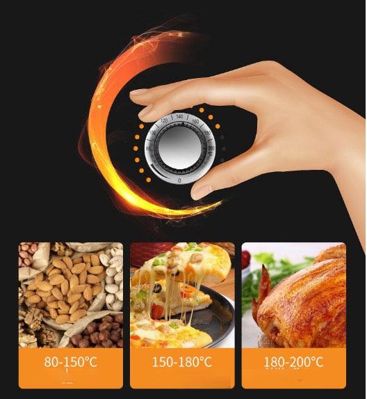 Intelligent Oil-less 3.8L Automatic Chip Fryer 5