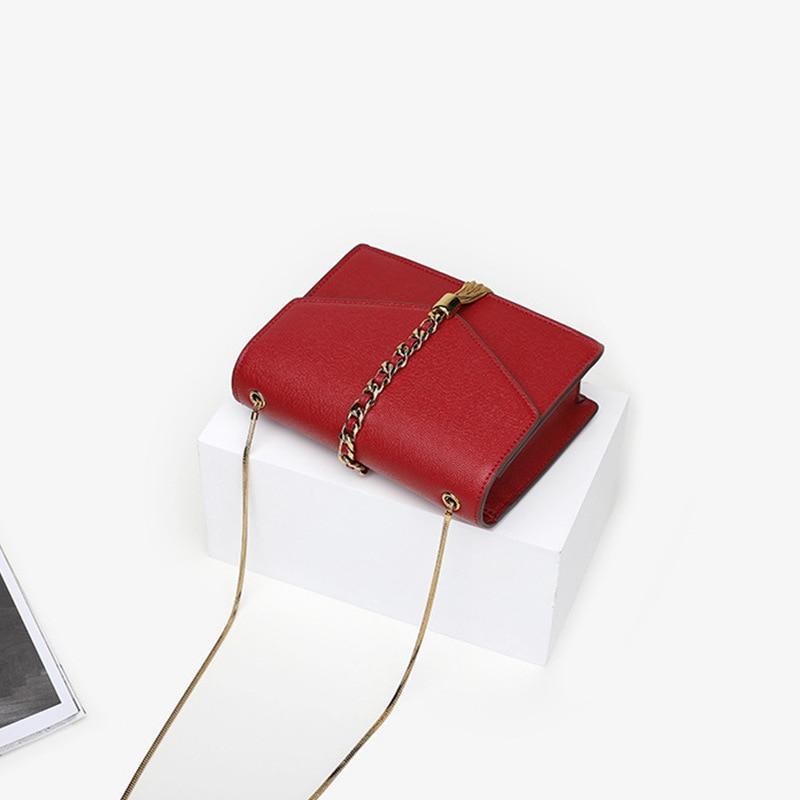 De Décontracté Bandoulière Black Paillettes Sac Épaule Chaîne En red Unique Gland Nouvelle Petit Femmes 2018 Mode Carré Enveloppe nwqOUzzf